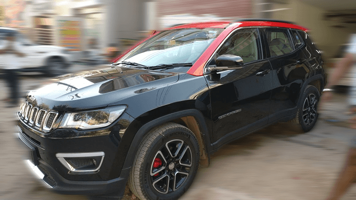 Jeep Compass Wrapping