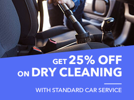 Dry Cleaning offers