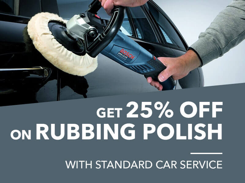 rubbing polishing offer